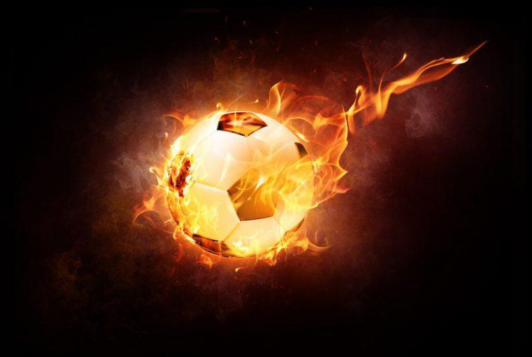 fotboll eld